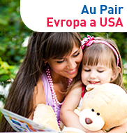 Au pair Evropa a USA