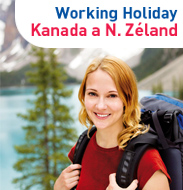 Working Holiday Kanada a N.Zéland
